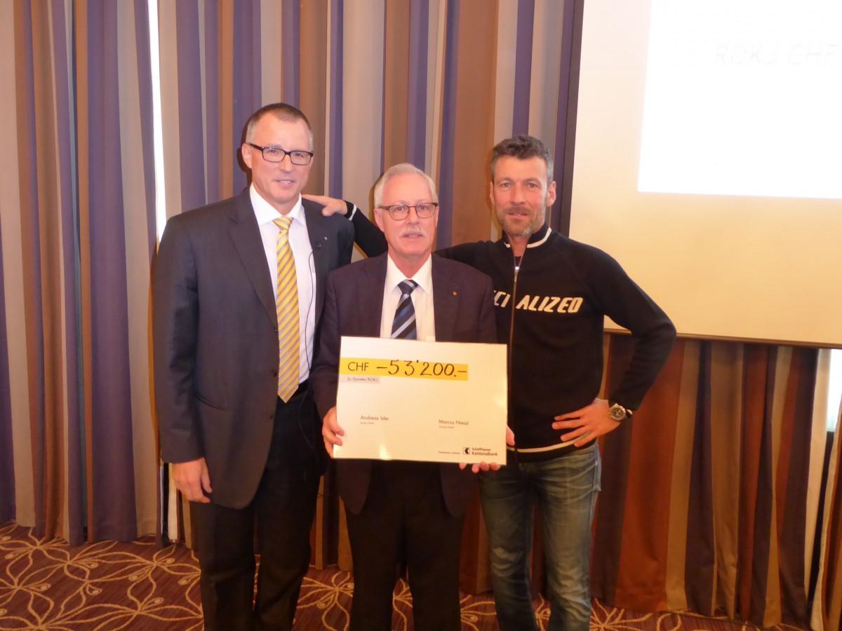 Andreas Isler, Peter Wegmüller (Präsident ROKJ Bülach/Dielsdorf), Marcus Niessl